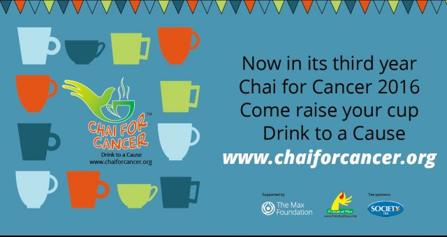 Chai for Cancer is well into its third fund-raising season