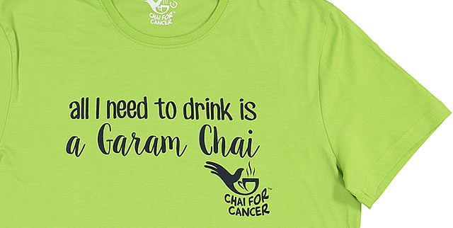 Chai for Cancer Tees
