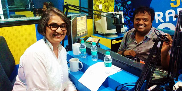 Chai for Cancer on radio