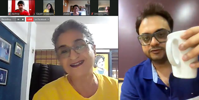 Virtual Adda with Viji Venkatesh and RJ Rishi