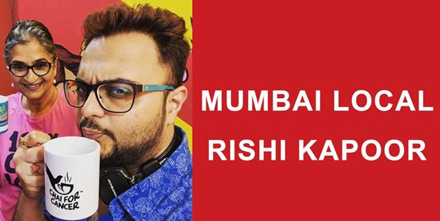 Chai for Cancer on Mumbai Local with RJ Rishi Kapoor
